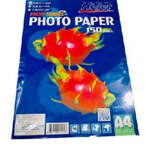 กระดาษโฟโต้เปเปอร์ฟรุ๊ตซีรีย์ Hi-jet PJG154-100 150 GSM