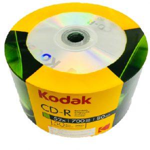 แผ่น CD-R KODAK 700MB/52X(แพ็ค 50 แผ่น)