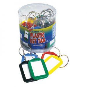 พวงกุญแจพลาสติก (แพ็ค25อัน) เบนน่อน BN-10