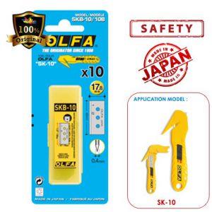 ใบมีดคัตเตอร์ OLFA SKB-10/10B สำหรับมีดคัตเตอร์รุ่น SK-10