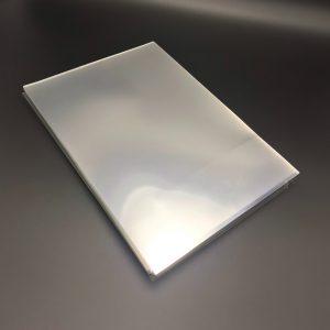 ปกใสPETขนาด A4 หนา200ไมครอน( 0.20มม.) (พลาสติกใสทำ face shield) 100แผ่น