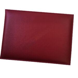 ปกประกาศนียบัตรหนังเทียม ปกเรียบขนาด A5 สีหลากสี