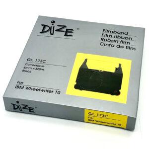 ผ้าหมึกพิมพ์ดีดไฟฟ้า DIZE-173C สำหรับ เครื่องพิมพ์ดีด IBM 6747