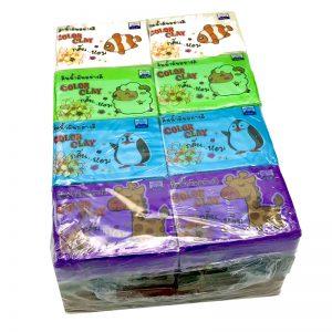 ดินน้ำมันไร้สารพิษFUJI No.150(Non-Toxic Clay)24ก้อน/แพ็ค
