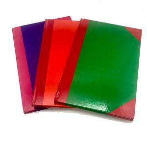 สมุดบัญชี 5/50  2 ช่องหน้าเดี่ยว 21.2×33.5 ซม. 50 แผ่น