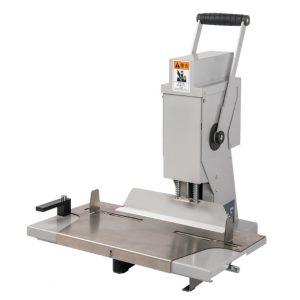เครื่องเจาะกระดาษมือโยกไฟฟ้า8350 ความหนา 50 มม เจาะกระดาษหนา 500 แผ่น
