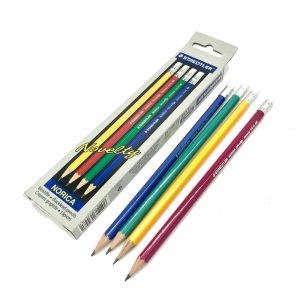 ดินสอ HB สเตดเลอร์ NORICA Novelty(กล่อง12แท่ง)