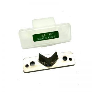 ใบมีดเครื่องตัดมุมบัตร R6 size M สำหรับ WARRIOR NO. 21144